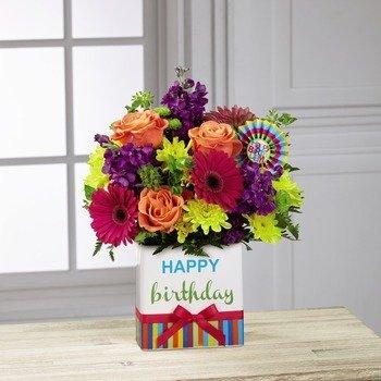 El Ramo de FTD® Cumpleaños Luminoso™