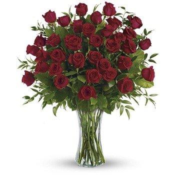 Belleza Imponente - 3 Docenas de Rosas de Tallo Largo