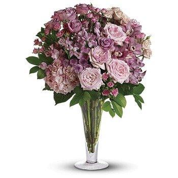 Ramo A La Moda con Rosas de Tallo Largo