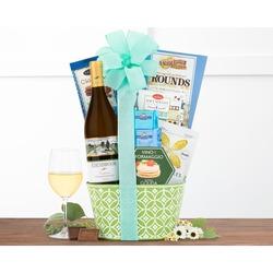 Canasta de Regalo de Vino Chardonnay de Edenbrook Vineyards