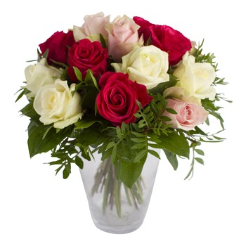 Un sueño de rosas (florero no incluido)