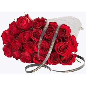 Rosas Rojas Envueltas para Regalo
