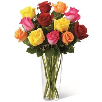 El Ramo de Rosas Brillantes de FTD E4-4809